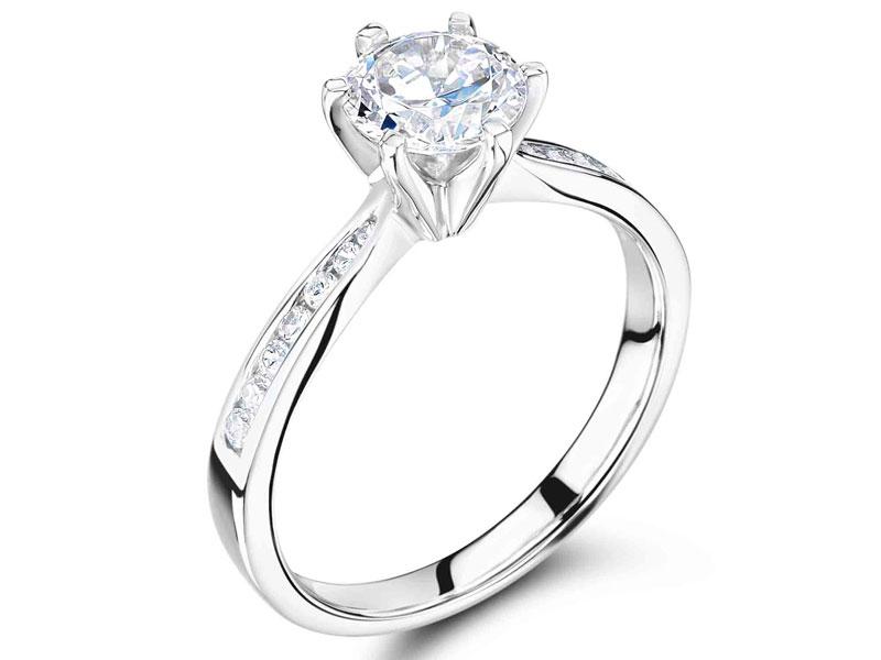 Contemporary Diamond Rings Hatton Garden
