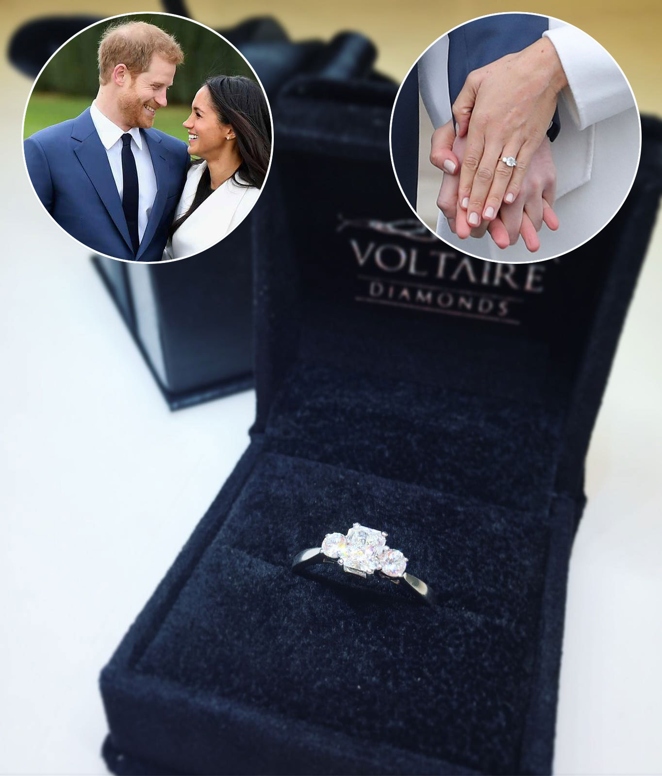 Prince Harry proposes to Meghan Markle with Stunning Engagement Ring