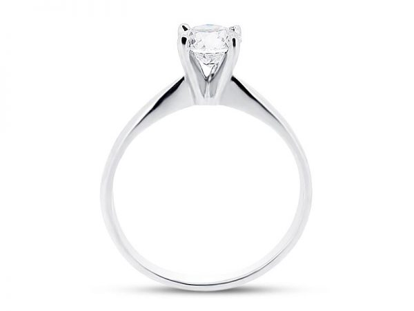 er 1044 side round solitaire plain engagement rings