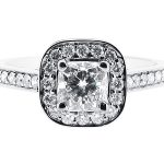 er 1335 round halo pave engagement ring