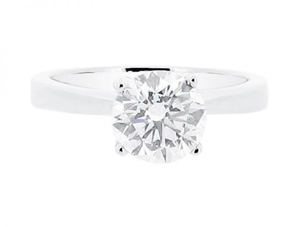 er 1535 round solitaire plain engagement rings