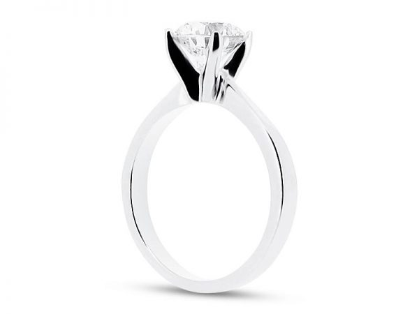 er 1535 side round solitaire plain engagement rings