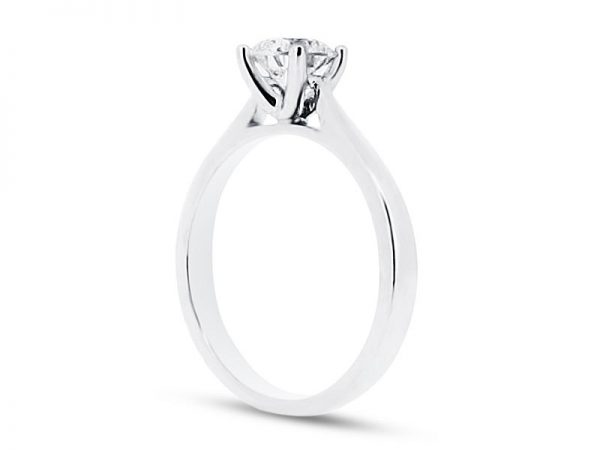 er 1548 side round solitaire engagement rings