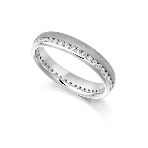 fet944 wedding eternity diamond ring