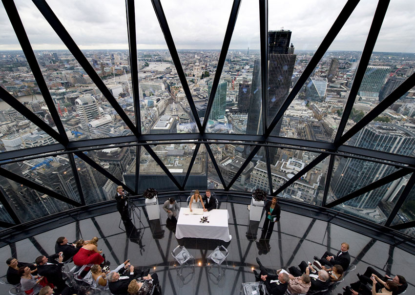Searcys at the Gherkin in London1.
