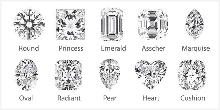 Top Diamond Shapes1