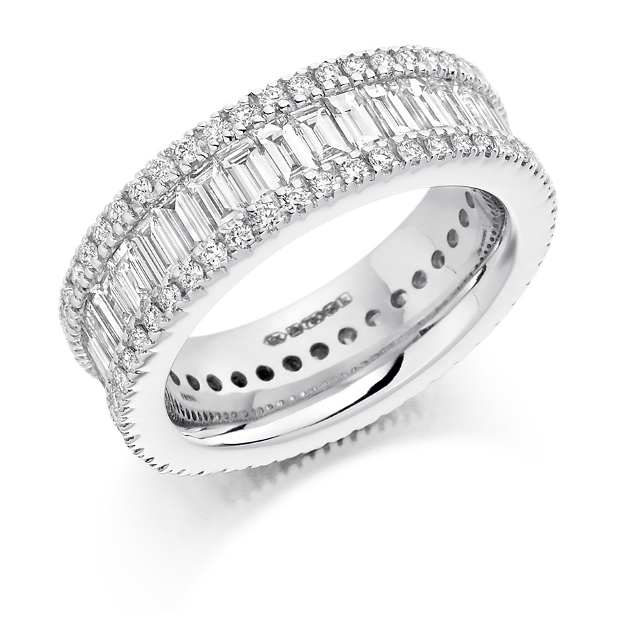wedding eternity diamond ring.